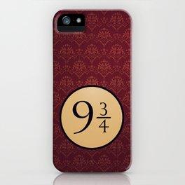 9 3/4 iPhone Case