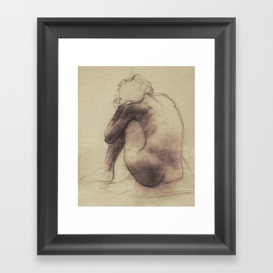 Repose Framed Art Print