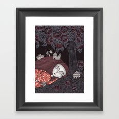 Tree of Forever Dreams Framed Art Print