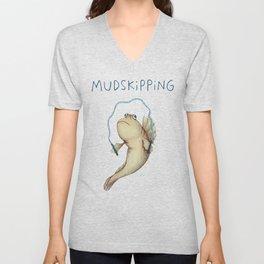 Mudskipping Unisex V-Neck