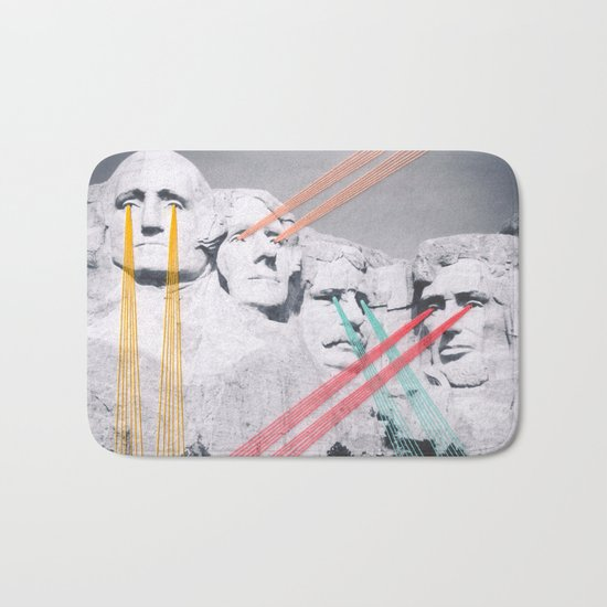 Embroidered Mt. Rushmore Bath Mat
