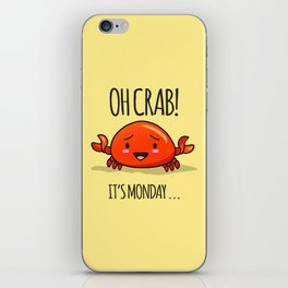 Crabby Day! iPhone Skin