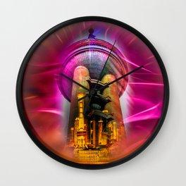 Shanghai Pearl Tower Wall Clock