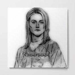 CHAPMAN Metal Print