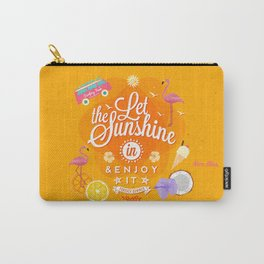 Let the Sunshine in 1 Carry-All Pouch