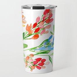 Fleurs de contraste Travel Mug
