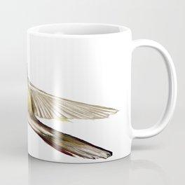 Bird in Flight, Yellow Bird Coffee Mug