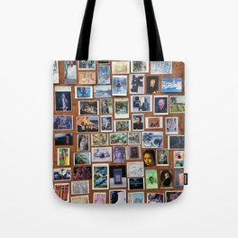Wooden Postcard Wall Tote Bag
