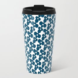 Blue Ripple Travel Mug