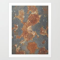 Splam Art Print