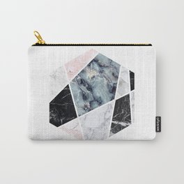 Marble Diamond Carry-All Pouch