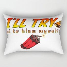 indy time Rectangular Pillow