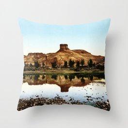 Green River, Wyoming, 1898 Throw Pillow