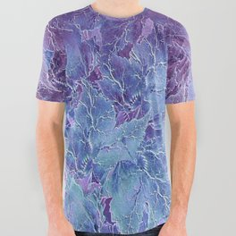 Frozen Leaves 4 All Over Graphic Tee