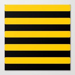 Bee pattern Canvas Print