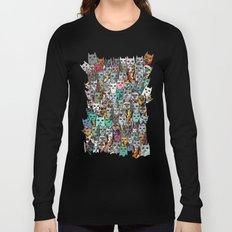 Gemstone Cats Long Sleeve T-shirt