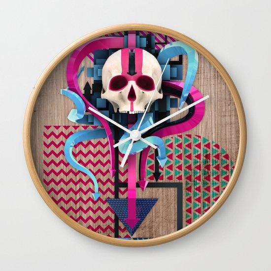 BeautifulDecay II Wall Clock