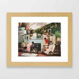 the help Framed Art Print