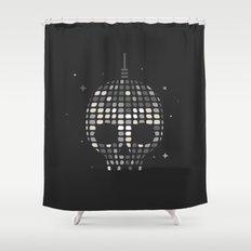 Death Disco Shower Curtain