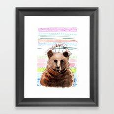 BEAUTY / Nr. 2 Framed Art Print