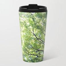 Green Maples Metal Travel Mug