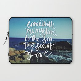 sea and love Laptop Sleeve