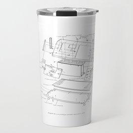 Korg VC-10 - exploded diagram Travel Mug