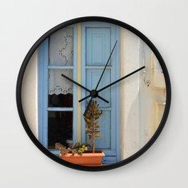The Light Blue Window, Milos Wall Clock