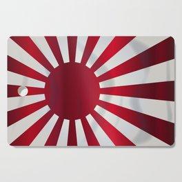 Japanese Rising Sun Flag Cutting Board
