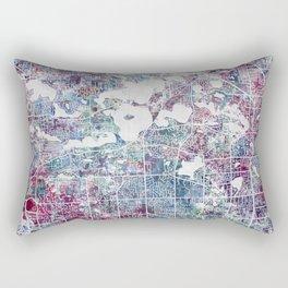 West Bloomfield map Rectangular Pillow