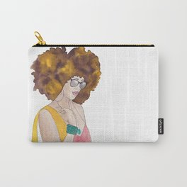 Sunshine Queen Carry-All Pouch