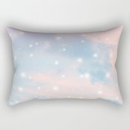 Pastel Cosmos Dream #2 #decor #art #society6 Rectangular Pillow