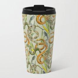 Hiss Snakes Repeat Pattern Travel Mug