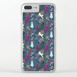 Doga (The Zen Puppy) Clear iPhone Case