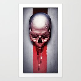 Tech-Head #2 Art Print