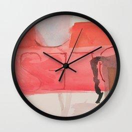 Around a Shoe Box Wall Clock