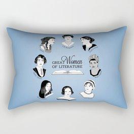 Great Women of Literature Rectangular Pillow