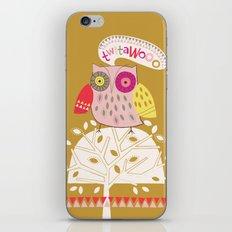 Twitawoo iPhone & iPod Skin