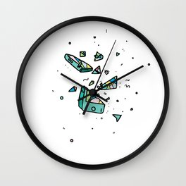 Quit your phone Wall Clock