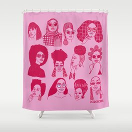 Babes of Summer Shower Curtain
