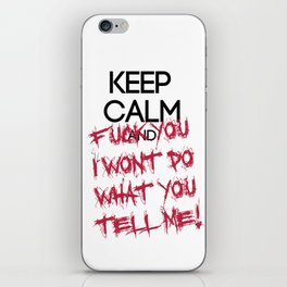 keep Calm iPhone Skin