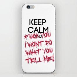 keep Calm iPhone Skin
