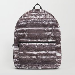 Gray Brown colorful watercolor Backpack