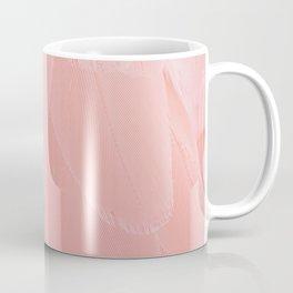 Pink Scandi Feathers Coffee Mug