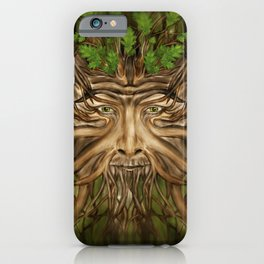 The Green Man - Spring iPhone Case