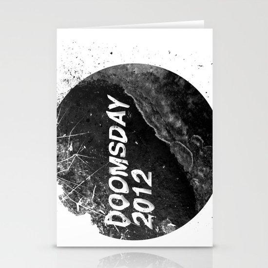 Doomsday 2012 Stationery Cards