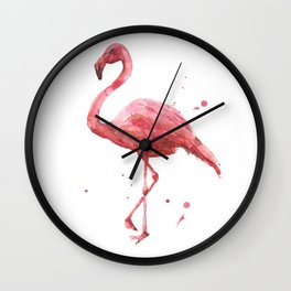 Coral Chic Wall Clock