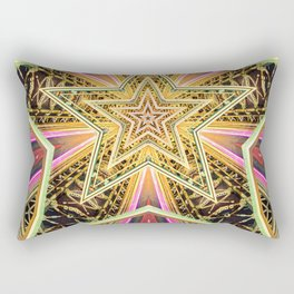 Time Travel Machine Rectangular Pillow