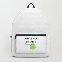 Not a fan of Got7 Ahgase Tweet! Backpack