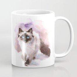 Watercolor Siamese Cat Coffee Mug